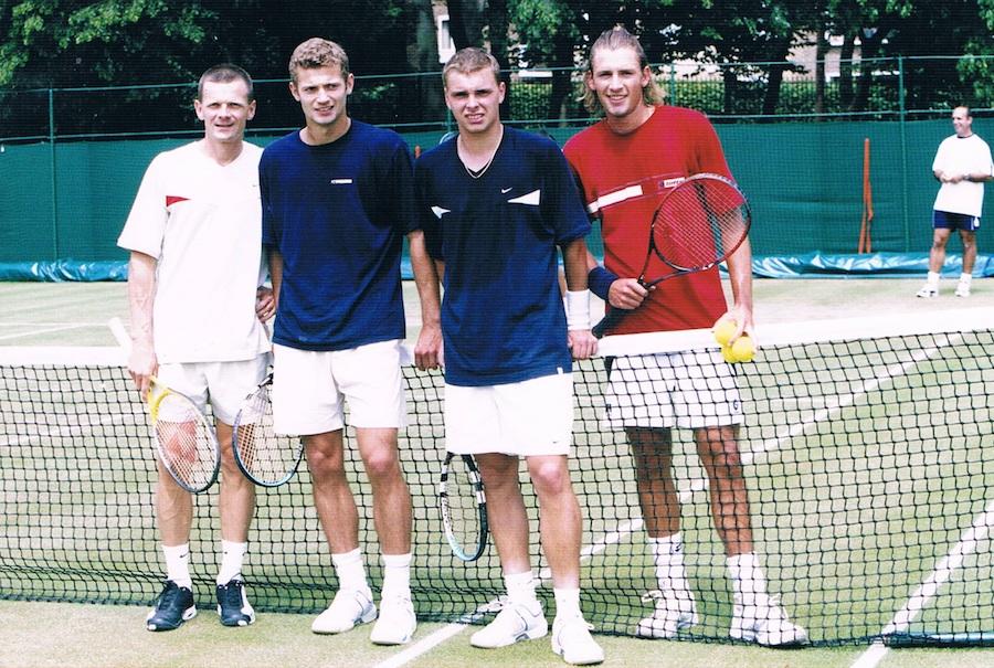 Lech Bieńkowski, Mariusz Fyrstenberg, Marcin Matkowski, Łukasz Kubot